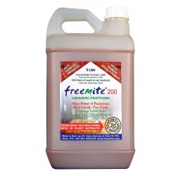 Freemite200  - 5 Liters 200 time concentrate (1000 liters of Organic Pest Control ready to use)